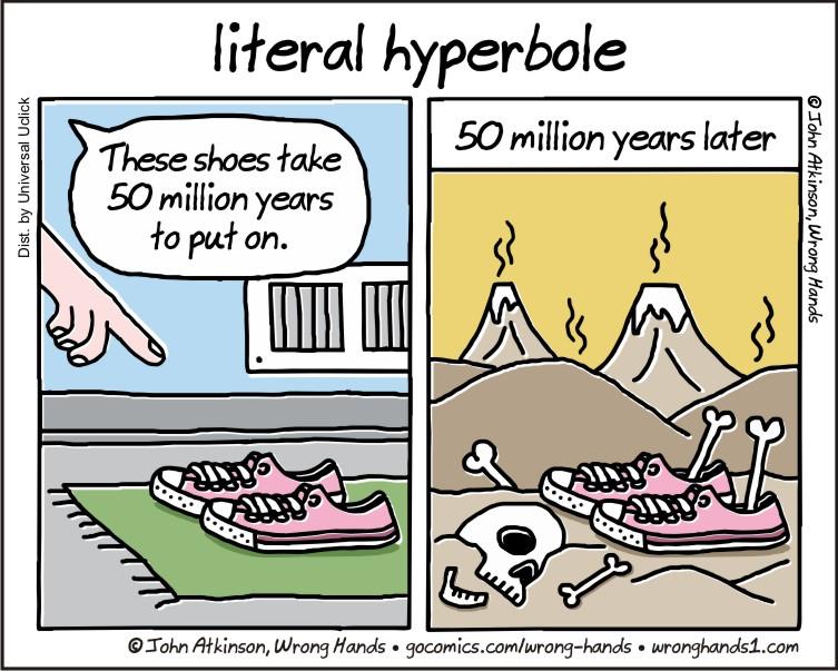 Hyperbole Semantics