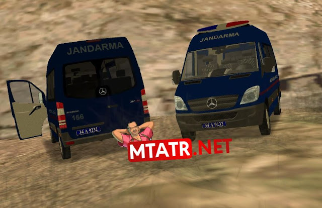 MTASA Mercedes Sprinter Jandarma