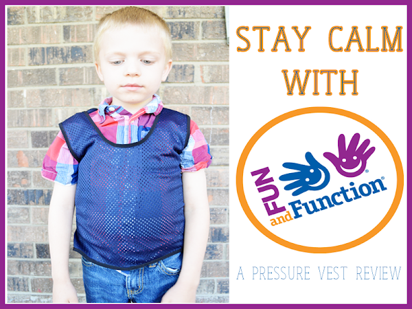Calm Down with Fun & Function {A Pressure Vest Review}