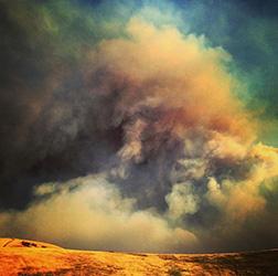 fire smoke drought poem