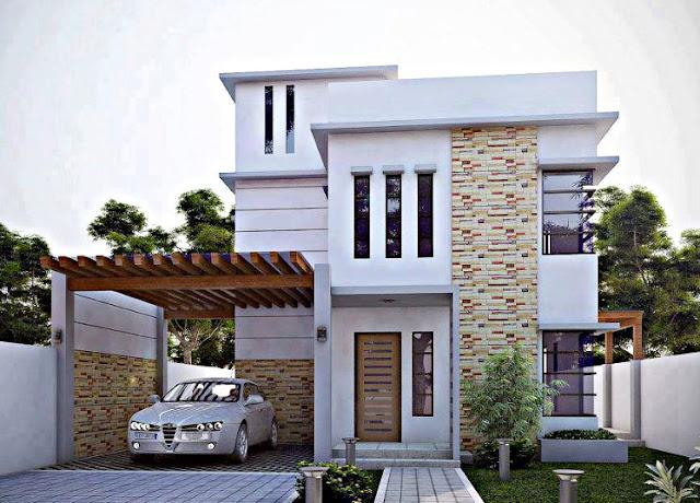 Desain Rumah Minimalis 2 Lantai Budget 200 Juta