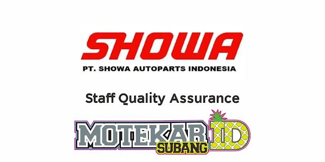 Info Lowongan Kerja PT Showa Autoparts Indonesia April 2021