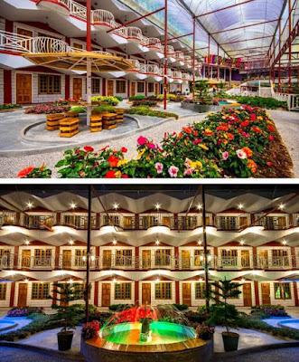 Hotel Kea Garden perkarangan penginapan