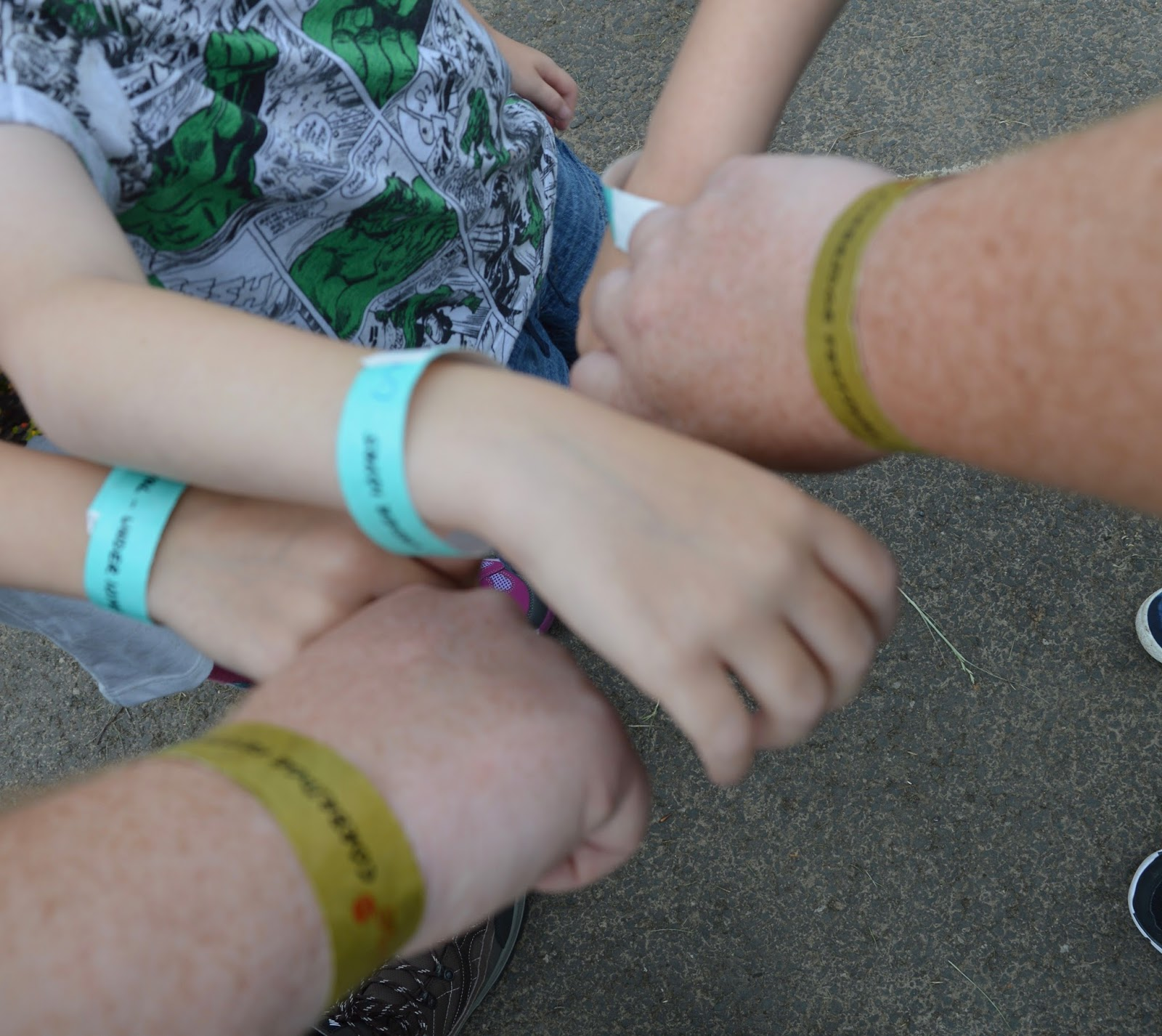 Corbridge Festival 2016 - A Review - wristbands