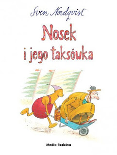 """Nosek i jego taksówka"", ""Nosek znajduje krzesło""  - Sven Nordqvist - recenzja"