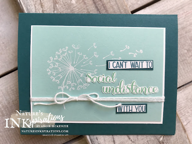 By Angie McKenzie for Wonderful Wednesday; Click READ or VISIT to go to my blog for details! Featuring the Dandelion Wishes stamp set AND the Share Sunshine PDF Download; #stampinup #handmadecards #naturesinkspirations #keepstamping #spreadsunshine #quarantinecards  #friendshipcards #dandelionwishesstampset  #sharesunshinepdf  #fussycutting #stampinwritemarkers #cardtechniques