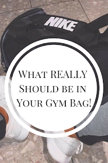 list of what should be in your gym bag