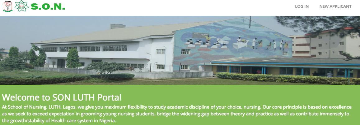 LUTH School of Nursing Aufnahmeuntersuchung Ergebnis 2018