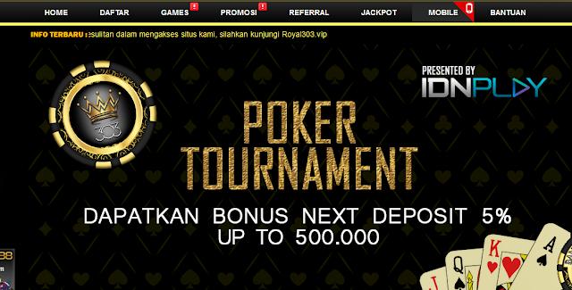 Agen Poker Online Promo Terbaru 2020 | Royal 303