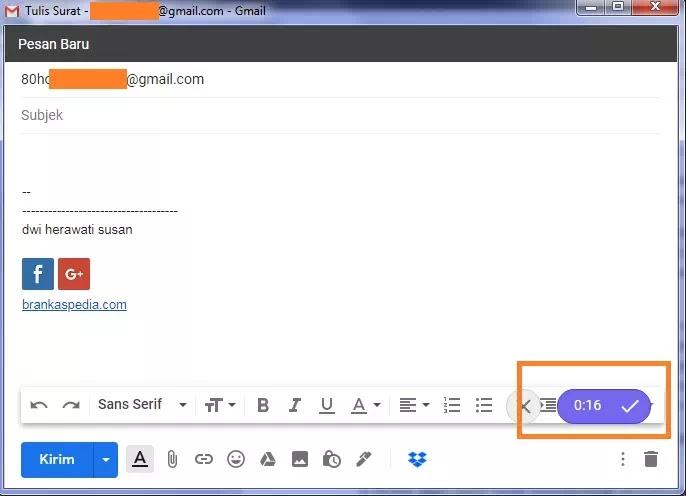 Cara Mengirim Pesan Audio di Gmail-5