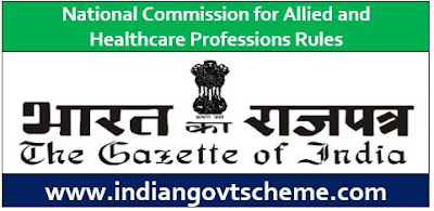Allied and Healthcare Professions Rules