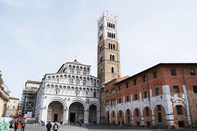Catedral de San Martín en Lucca, Toscana