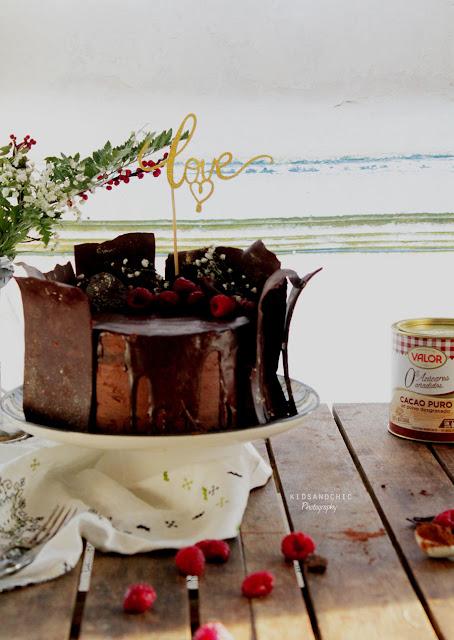 Tarta de chocolate y especias