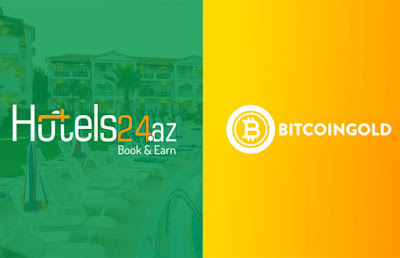 Bitcoin Gold (BTG) Payments Available on Azeri Hotel