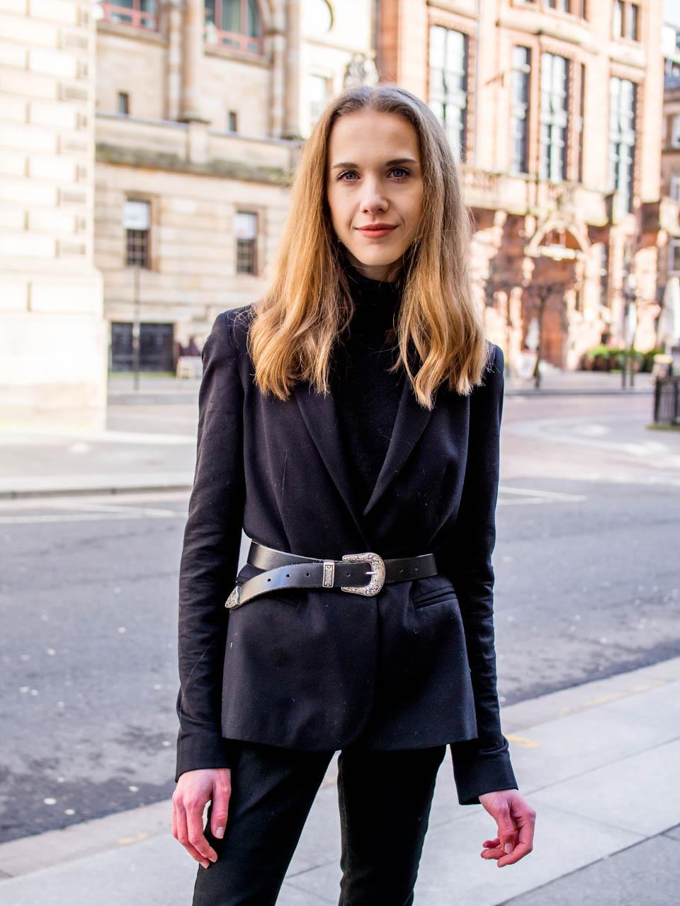 How to wear all black - Kuinka pukeutua kokomustaan