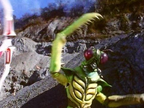 Mantis Power Rangers