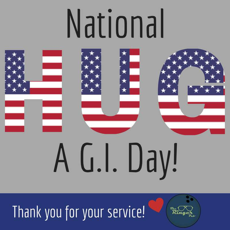 National Hug a G.I. Day Wishes Pics