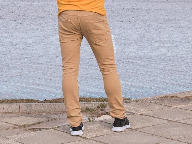 Джинсы для мужчины Faberlic, цвет бежевый (Артикул: 524901): отзывы с фото