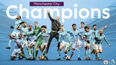 Mancity Juara Liga Inggris