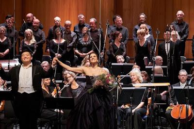 Donizetti: L'Ange de Nisida - David Junghoon Kim, Joyce El-Khoury - Opera Rara & Royal Opera  2018(c) ROH and Opera Rara. Photo by Russell Duncan
