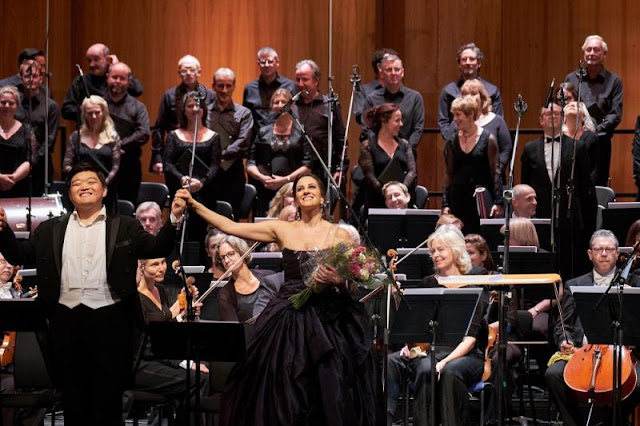 Donizetti: L'Ange de Nisida - David Junghoon Kim, Joyce El-Khoury - Opera Rara & Royal Opera (c) ROH and Opera Rara. Photo by Russell Duncan