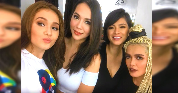 Angel Locsin Shines From A Photo Shoot With The Most Gorgeous Stars In The Kapamilya Celebrities!