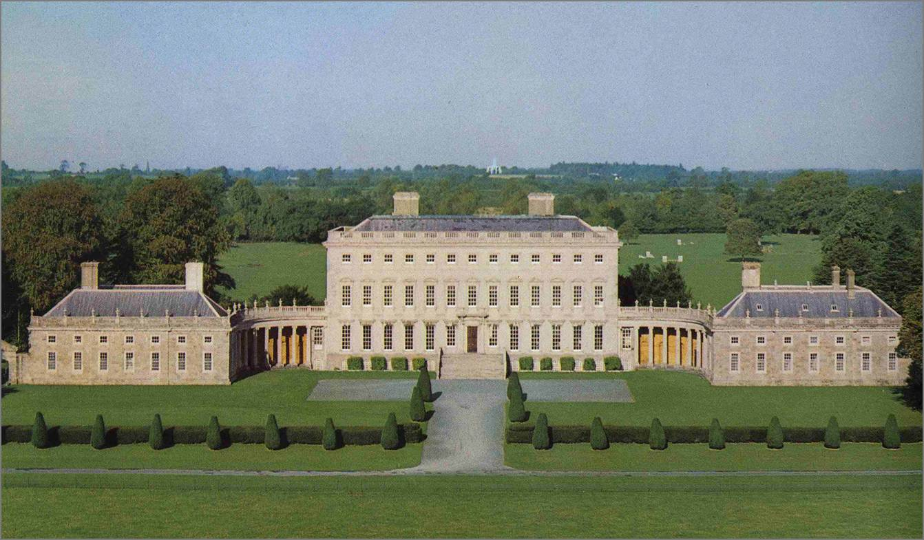 French Chateau Homes Lord Belmont In Northern Ireland Castletown House