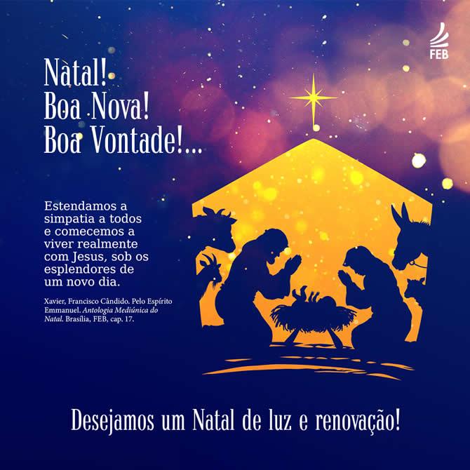 Feliz Natal com Jesus!