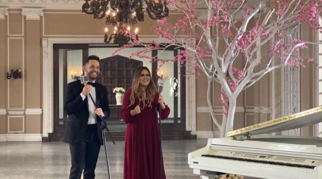 Pr. Lucas grava videoclipe com a cantora Sarah Farias