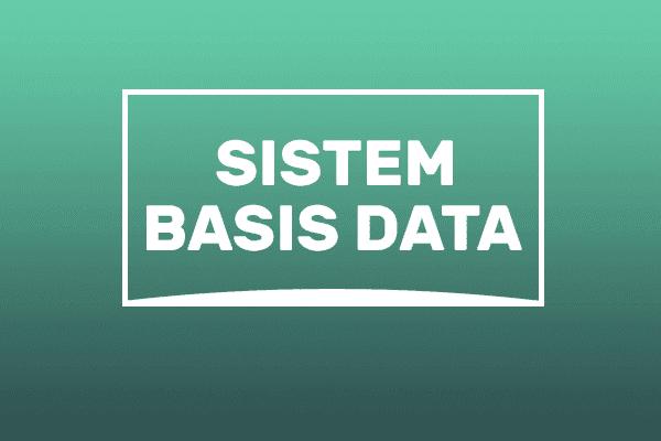apa itu sistem basis data