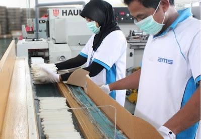 Kami dari CV Buana Mahayasa Sakti yaitu sebuah perusahaan yang bergerak dibidang produksi Filterrods yaitu merupakan salah satu komponen penting dalam pembuatan batang rokok filter. Produk kami dipasarkan secara lokal diberbagai daerah di Indonesia dan juga secara Eksport. Perusahaan kami beralamat di JL PR Sukun No 3 Gondosari Gebog Kudus 59354 telp 0291 444376 yang Saat ini membutuhkan karyawan sebagai berikut