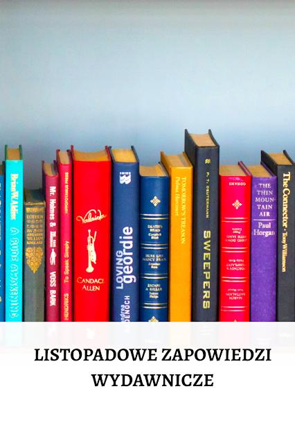 Książkowe nowości - listopad 2020
