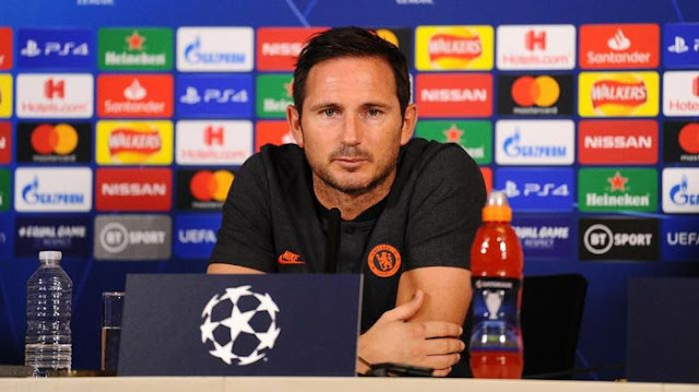 Lampard Chelsea's request to focus on every match in the Champions League