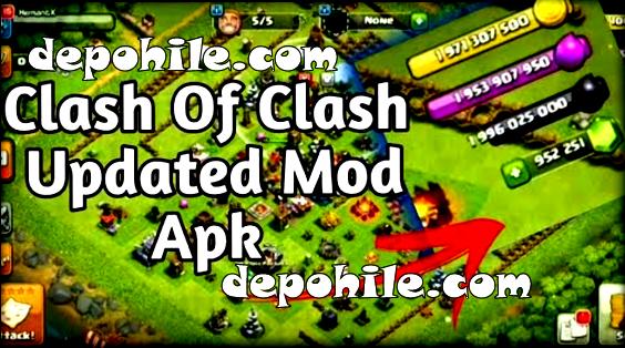 Clash of Clans v13.576.7 Atrasis Mod Sınırsız Hileli Apk 2020