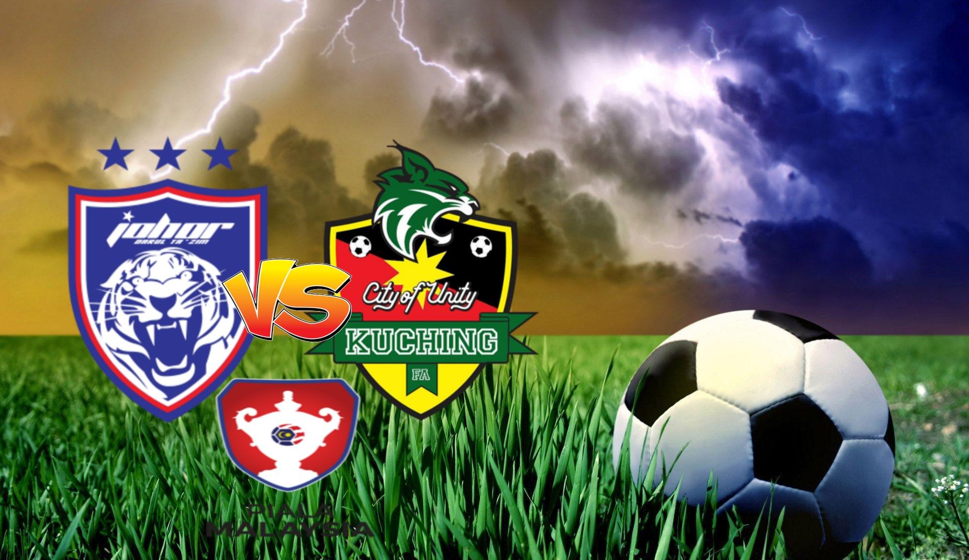 Live Streaming JDT vs Kuching FA Piala Malaysia 6 November 2020