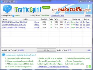 تحميل برنامج الزيارات Traffic سبيريت لتخفيض ترتيب مدونتك ب Alexa