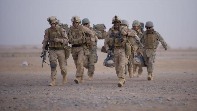EEEU comienza a retirar sus tropas de dos bases en Afganistán