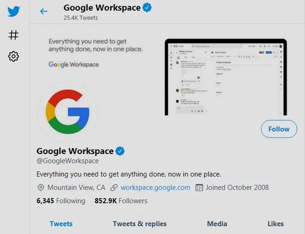 صورة Google Workspace