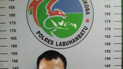 Pengedar Sabu-sabu di Kotapinang Diciduk Satres Narkoba Polres Labuhanbatu