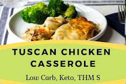 TUSCAN CHICKEN CASSEROLE RECIPE LOW CARB KETO THM