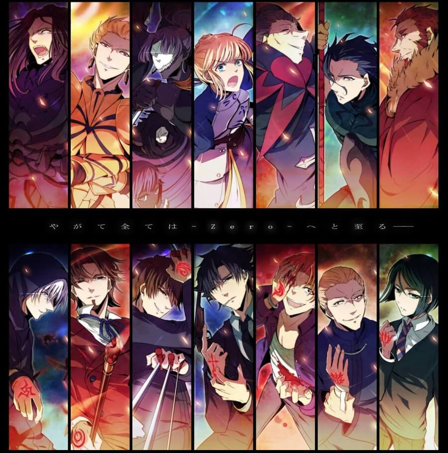 Fate/Zero ( Season 2 ) [BD] Sub Indo : Episode 1-12 END