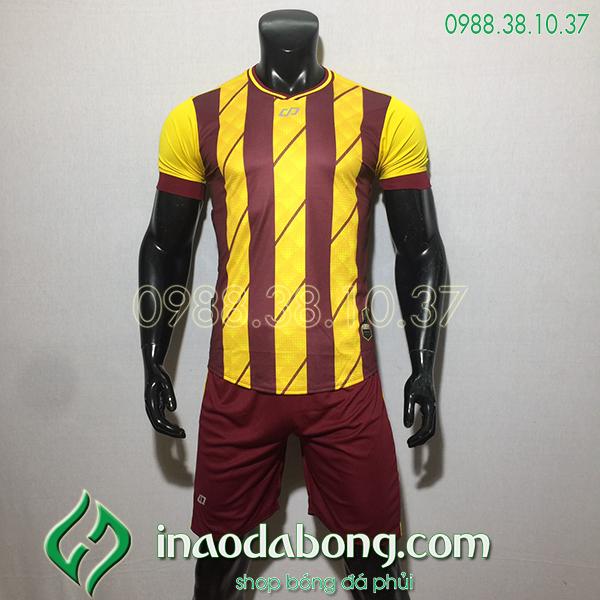 Áo bóng đá kp logo Cp HuB màu vàng