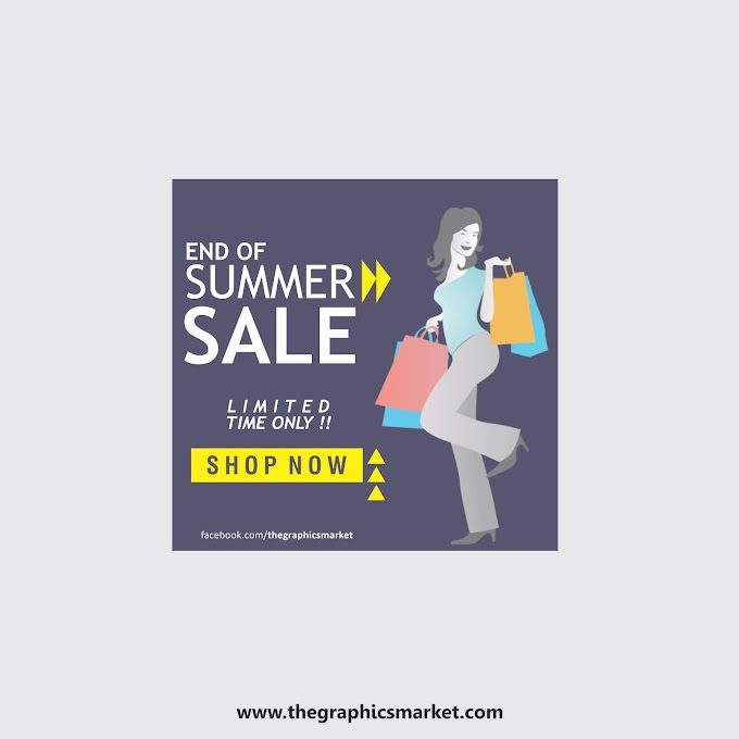Summer Sale Banner Template | Free Download