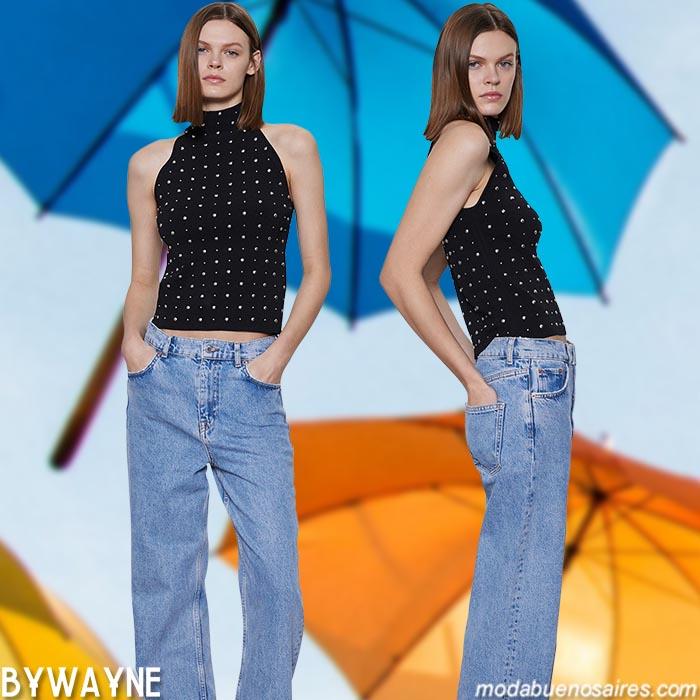moda jeans primavera verano 2021 mujer