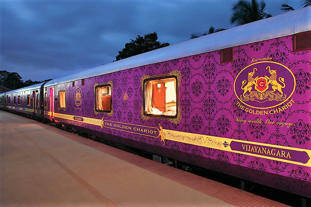 LUXURY TRAINS - THE GOLDEN CHARIOT
