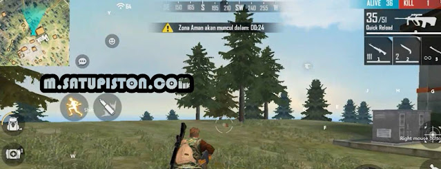 Review Tes Kartu By.U Unlimited 1,5 Mbps Untuk Main Game Free Fire