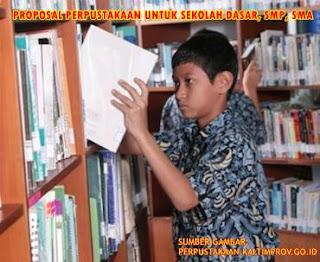 Proposal Perpustakaan untuk Sekolah Dasar, SMP dan SMA