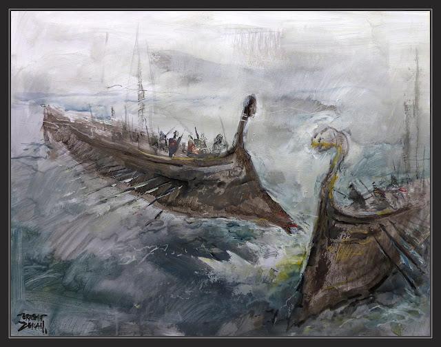 SALAMINA-BATALLA-NAVAL-PINTURA-ARTE-TEMISTOCLES-GRECIA-ATENAS-PERSIA-HISTORIA-PINTURAS-PINTOR-ERNEST DESCALS