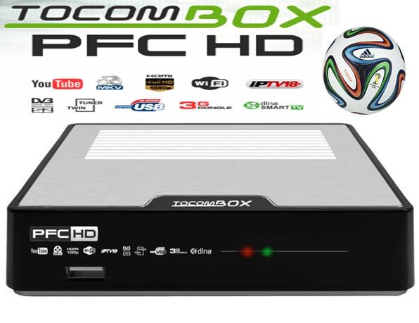 TOCOMBOX PFC HD NOVA ATUALIZAÇÃO V3.053 - 12/11/2019