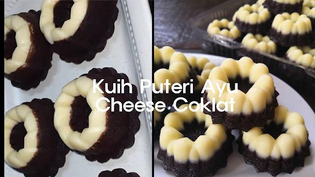 Kuih Puteri Ayu Cheese Coklat